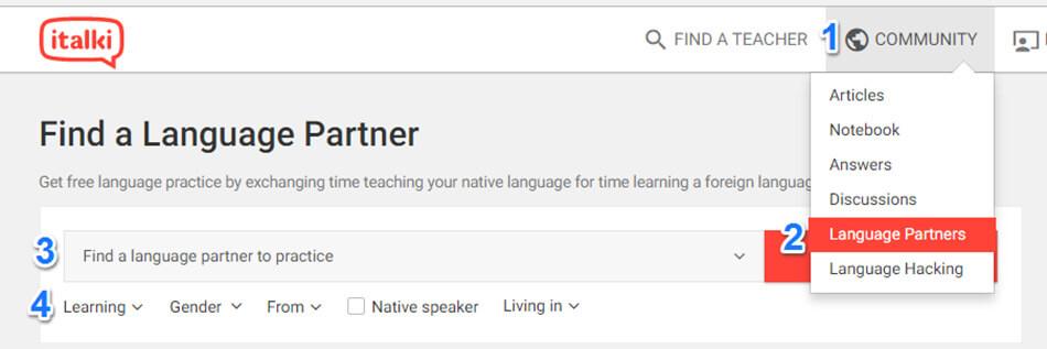 italki levelezőtárs kereső oldal, ha külföldi beszélgetőpartnert keresel