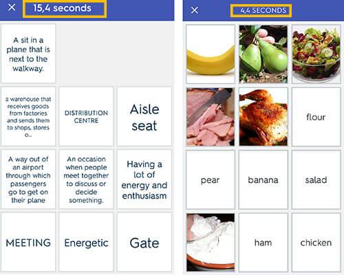 quizlet tanulási lehetőségek szótanuló nyelvtanuló app nyelvtanulás applikáció alkalmazás match feladat