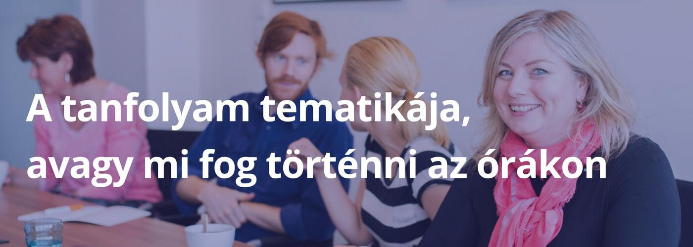 kommunikációs dopping üzleti angol nyelvtanfolyam tematika