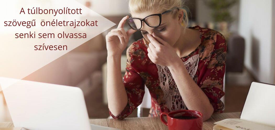 ne okozz fejfájfást túlbonyolított mondataiddal angol CV-dben