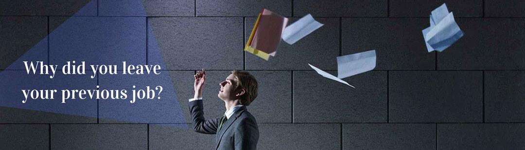 angol interjú kérdés és lehetséges válaszok Why did you leave your previous job